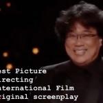 Bong Joon-ho Stole Our Hearts at the Oscars Last Night