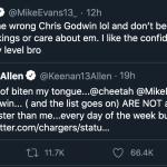 Mike Evans Dunked on Keenan Allen, Is Also Better WR Than Keenan Allen